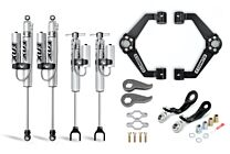 Cognito 3-Inch Premier Leveling Kit with Fox PSRR 2.0 Shocks for 11-19 Silverado/Sierra 2500/3500 2WD/4WD