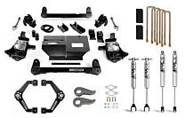 Cognito 6-Inch Standard Lift Kit with Fox PS 2.0 IFP Shocks for 11-19 Silverado/Sierra 2500/3500 2WD/4WD
