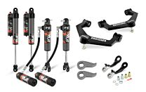 Cognito 3-Inch Elite Leveling Kit with Fox Elite 2.5 Reservoir Shocks for 20-21 Silverado/Sierra 2500/3500 2WD/4WD
