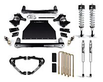 Cognito 4-Inch Performance Lift Kit With Fox PS IFP 2.0 Shocks For 14-18 Silverado/ Sierra 1500 2WD/4WD With OEM Stamped Steel/ Cast Aluminum Control Arms