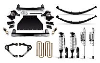 Cognito 6-Inch Elite Lift Kit with Fox FSRR Shocks For 14-18 Silverado/Sierra 1500 2WD/4WD With OEM Stamped Steel/Cast Aluminum Control Arms