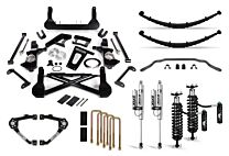 Cognito 10-Inch Elite Lift Kit with Fox FSRR Shocks For 14-18 Silverado/Sierra 1500 2WD/4WD With OEM Stamped Steel/Cast Aluminum Control Arms