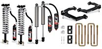 Cognito 3-Inch Elite Leveling Lift Kits with Fox Elite 2.5 Reservoir Shocks for 19-21 Silverado/Sierra 1500 2WD/4WD