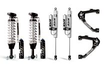Cognito 3-Inch Elite Leveling Kit with Fox FSRR Shocks for 07-18 Silverado/Sierra 1500 2WD/4WD