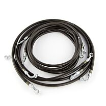 Cognito OE Replacement Performance Brake Line Kit for Polaris