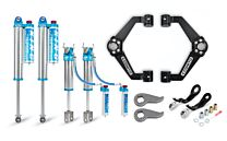 Cognito 3-Inch Elite Leveling Kit with King 2.5 Reservoir Shocks For 11-19 Silverado Sierra 2500/3500 2WD/4WD