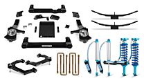 Cognito 4-Inch Elite Lift Kit with King 2.5 Remote Reservoir Shocks for 19-21 Silverado Trail Boss/Sierra AT4 1500 4WD