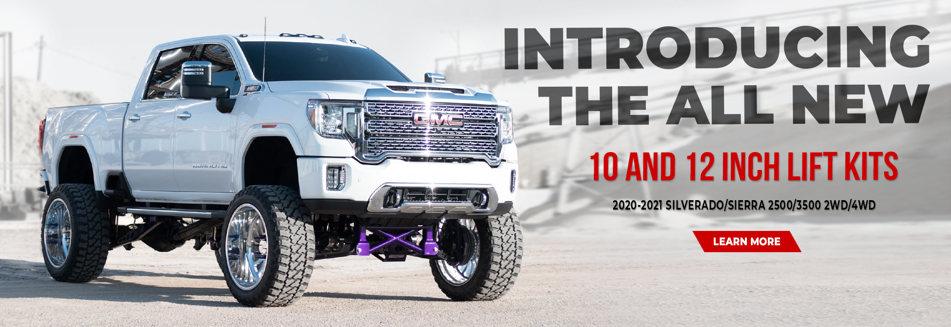 10 and 12 Inch Performance Lift Kits GMC and Chevy