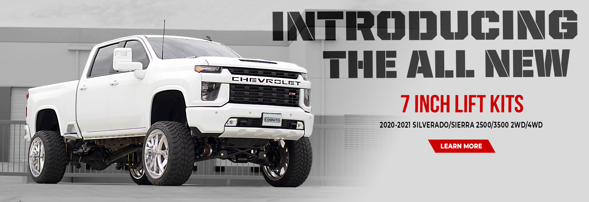 Cognito 7 Inch Standard and Performance Lift GMC and Chevy