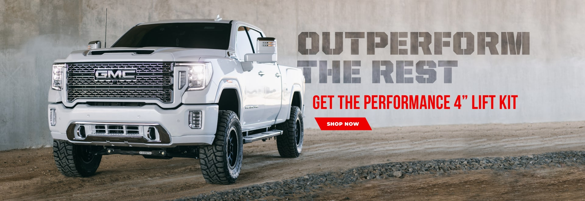 Cognito 4 Inch Performance Lift Kit for GMC and Chevy